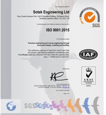 Sotek Engineering Ltd GB21-968607